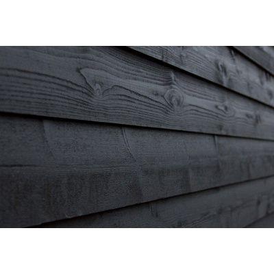 Hoofdafbeelding van WoodAcademy Achterwand Vuren 600 cm Zwart (133565)*
