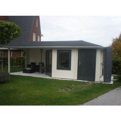 Bild 16 von Interflex Blockhaus 4355 Z, Seitendach 450 cm