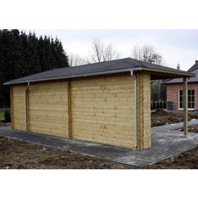 Bild 7 von Interflex Blockhaus 4355 Z, Seitendach 450 cm