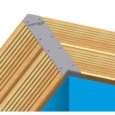 Afbeelding 4 van Ubbink Linéa 650 x 350 x 140 cm compleet met blauwe liner en uitrusting