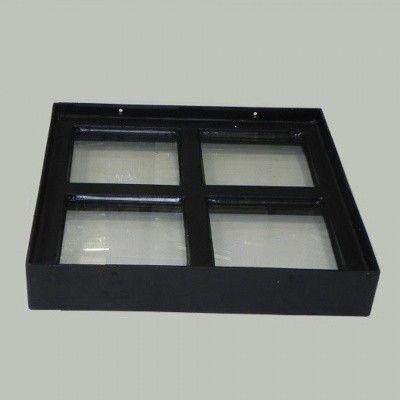 Afbeelding 3 van Azalp Stalen raam vast, 300x300 mm