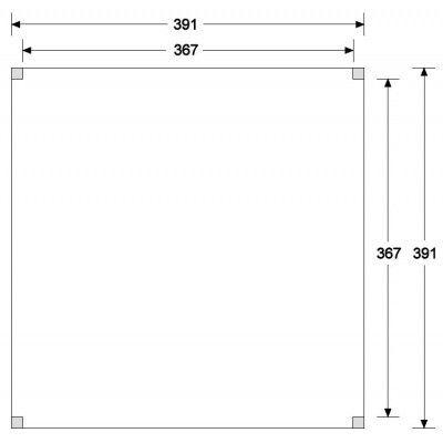 Afbeelding 6 van CarpGarant Overkapping Douglas Excellent 400x400 cm (CG137239)
