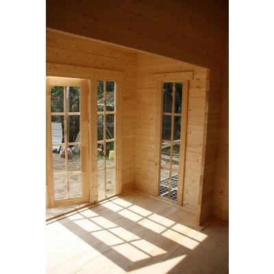 Bild 23 von Azalp Blockhaus Ben 600x750 cm, 60 mm
