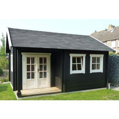 Afbeelding 63 van Azalp CLASSIC blokhut Cottage Style Cumberland 520x430 cm, 45 mm
