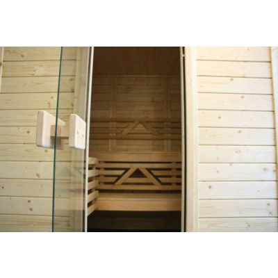 Afbeelding 25 van Azalp Massieve sauna Genio 166x190 cm, 45 mm