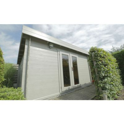 Bild 65 von Azalp Blockhaus Ingmar 350x400 cm, 45 mm
