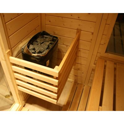 Afbeelding 38 van Azalp Massieve sauna Genio 150x150 cm, 45 mm