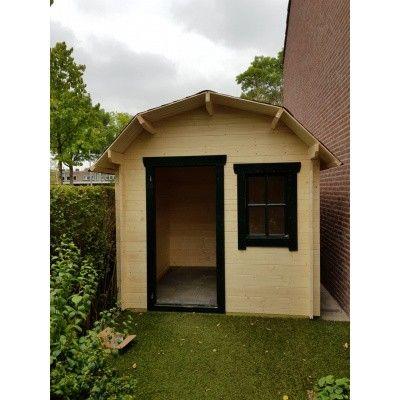 Bild 64 von Azalp Blockhaus Kent 250x250 cm, 30 mm