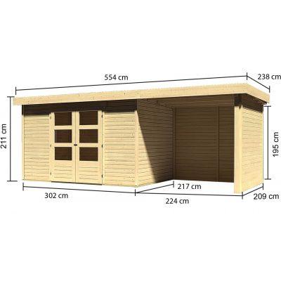 Afbeelding 3 van Woodfeeling Askola 4 met veranda (77732)