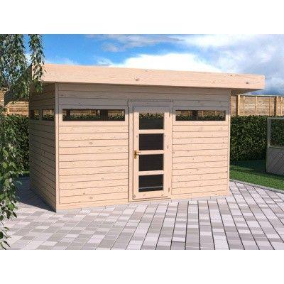 Bild 2 von SmartShed Blockhaus Amando 400x300 cm, 45 mm