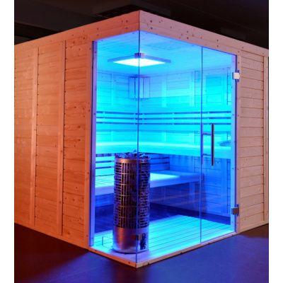 Afbeelding 16 van Azalp Sauna Luja 240x250 cm, 45 mm