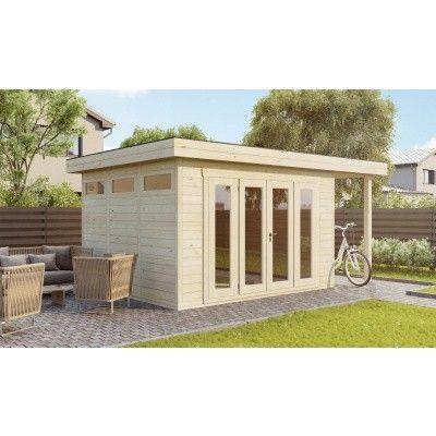 Bild 2 von SmartShed Blockhaus Isidro 550x350 cm, 45 mm
