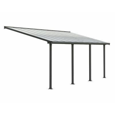 Hoofdafbeelding van Palram Olympia patio cover 3X9.15 grijs