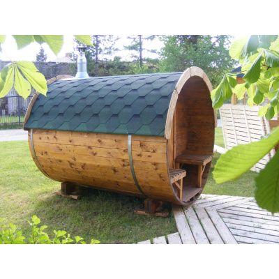 Afbeelding 20 van Azalp Barrel 190x300 cm, 45 mm Vuren