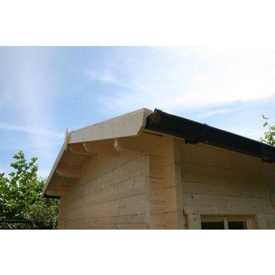 Bild 20 von Azalp Blockhaus Mona 450x400 cm, 45 mm