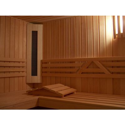 Afbeelding 2 van Azalp Sauna Runda 203x237 cm elzen