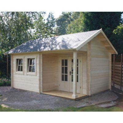 Afbeelding 15 van Azalp CLASSIC blokhut Cottage Style Cumberland 520x430 cm, 45 mm