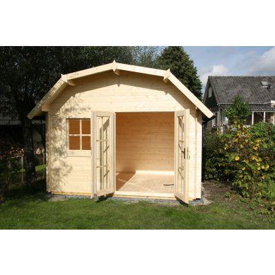 Bild 14 von Azalp Blockhaus Cornwall 450x300 cm, 45 mm