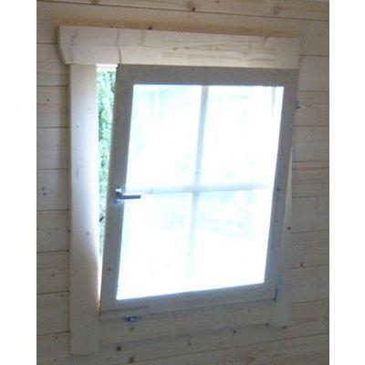 Afbeelding 2 van Azalp Extra draai-kiepraam voor blokhut, 80x88 cm*