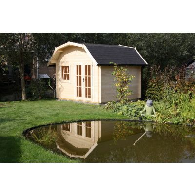 Bild 11 von Azalp Blockhaus Cornwall 400x250 cm, 45 mm