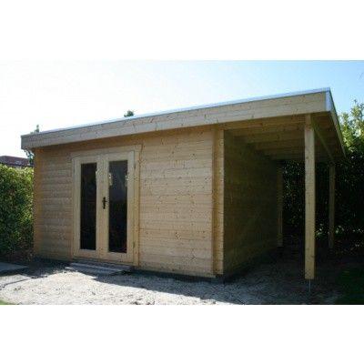Bild 62 von Azalp Blockhaus Sven 400x450 cm, 45 mm