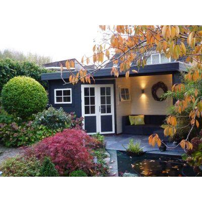 Bild 12 von Interflex Blockhaus 2556 Z, Seitendach 500 cm