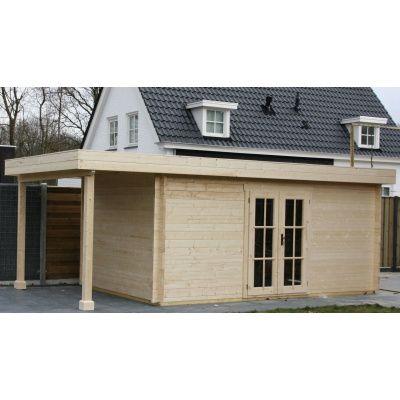 Hauptbild von Azalp Blockhaus Sven 350x350 cm, 45 mm