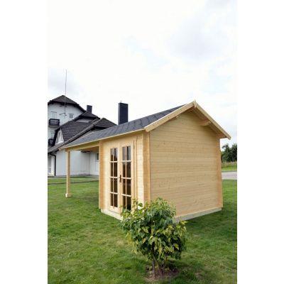 Bild 10 von Azalp Blockhaus Marnix 650x350 cm, 45 mm