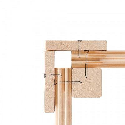 Afbeelding 6 van Woodfeeling Meulebeke 1 met veranda 300 cm