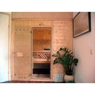 Afbeelding 11 van Azalp Massieve sauna Genio 166x166 cm, 45 mm