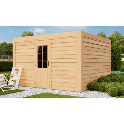 Hoofdafbeelding van WoodAcademy Graniet excellent Douglas blokhut 780x300 cm