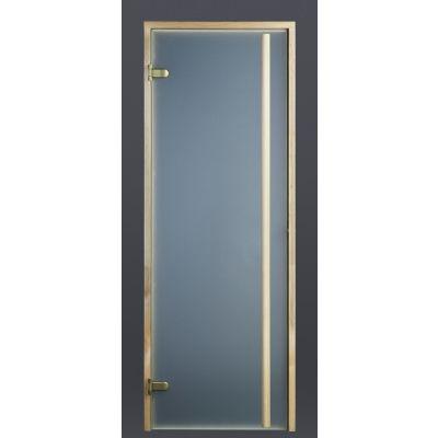 Hoofdafbeelding van Ilogreen Saunadeur Exclusive (Elzen) 79x189 cm, melkglas