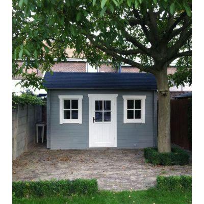 Bild 4 von Azalp Blockhaus Lis 350x250 cm, 30 mm