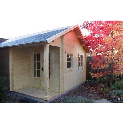 Bild 55 von Azalp Blockhaus Kinross 450x400 cm, 30 mm