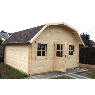 Bild 11 von Azalp Blockhaus Yorkshire 400x350 cm, 45 mm