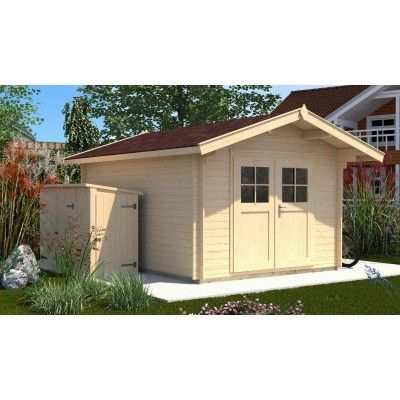 Hauptbild von Weka Gartenhaus Premium28 Gr. 5 mit Vordach