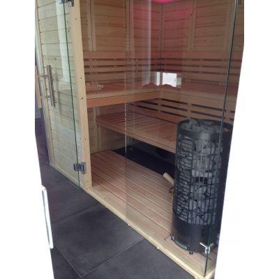 Afbeelding 18 van Azalp Sauna Luja 230x230 cm, 45 mm