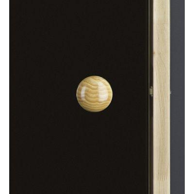 Afbeelding 5 van Ilogreen Saunadeur Trend (Elzen) 189x79 cm, bronsglas