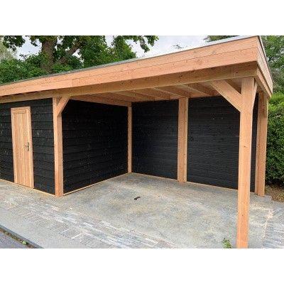 Bild 7 von WoodAcademy Bristol Nero Gartenhaus 680x300 cm