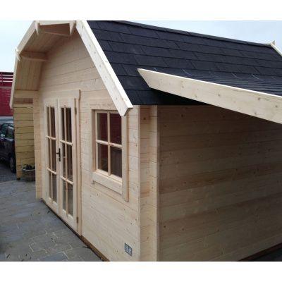 Bild 9 von Azalp Blockhaus Cornwall 450x300 cm, 45 mm