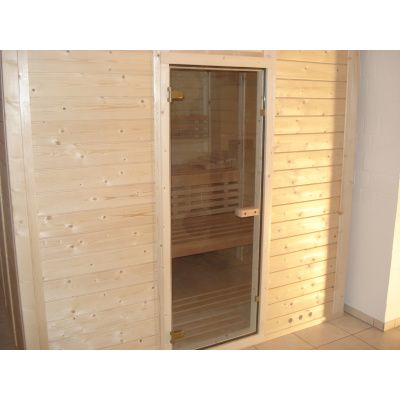 Afbeelding 34 van Azalp Massieve sauna Genio 180x180 cm, 45 mm