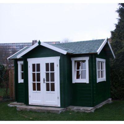 Bild 8 von Azalp Blockhaus Essex 450x500 cm, 45 mm
