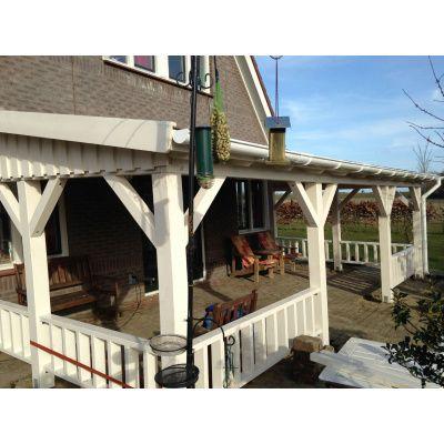 Bild 7 von Azalp Terrassenüberdachung Holz 600x250 cm
