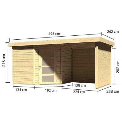 Afbeelding 3 van Woodfeeling Schwandorf 5 met veranda (77748)