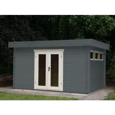 Bild 17 von Azalp Blockhaus Ingmar 596x550 cm, 45 mm