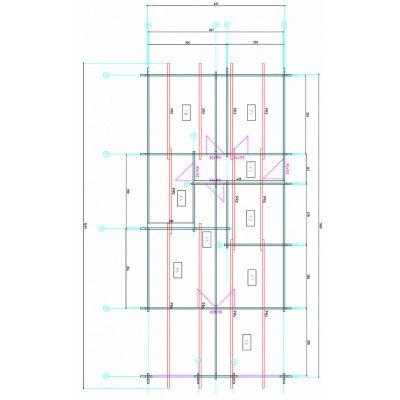 Afbeelding 2 van Azalp Toni Chalet 641x1389 cm, 60 mm