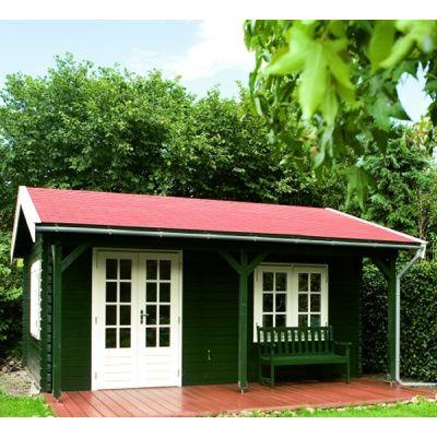 Afbeelding 57 van Azalp Blokhut, tuinhuisje of chalet op maat Duxwood