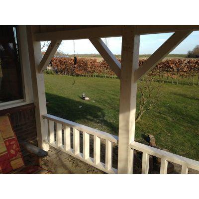 Afbeelding 10 van Azalp Houten veranda 350x250 cm