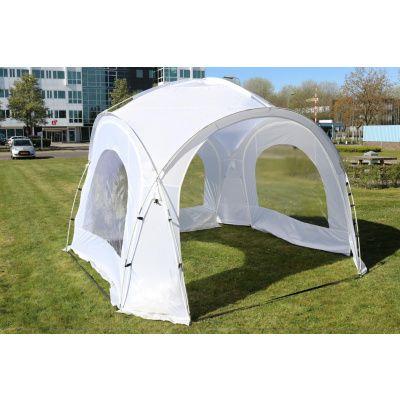 Hoofdafbeelding van Orange Outdoor Iglo Dome tent 3.5x3.5m wit