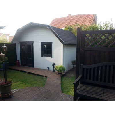 Bild 10 von Azalp Blockhaus Cornwall 400x300 cm, 45 mm